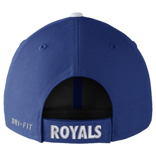 Nike™ Adults' Kansas City Royals Dri-FIT Wool Classic Cap - view number 2