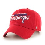 Forty Seven Men's Texas Rangers Division Champions Clean Up Cap