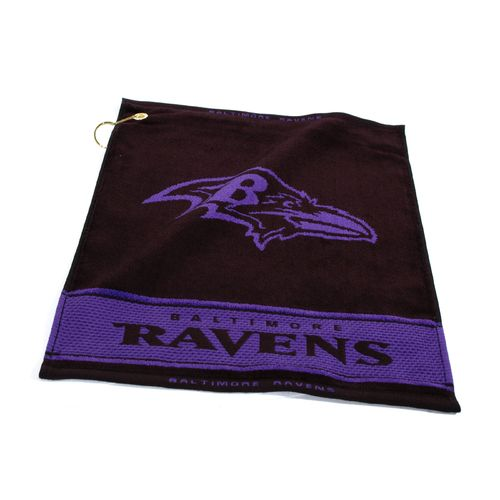 Team Golf Baltimore Ravens Woven Towel