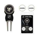 Team Golf Pittsburgh Penguins Divot Tool and Ball Marker Set - view number 1