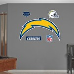 Fathead San Diego Chargers Real Big Team Logo Decal