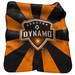 Logo Houston Dynamo Raschel Throw