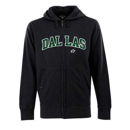 Antigua Men's Dallas Stars Signature Full Zip Hoodie