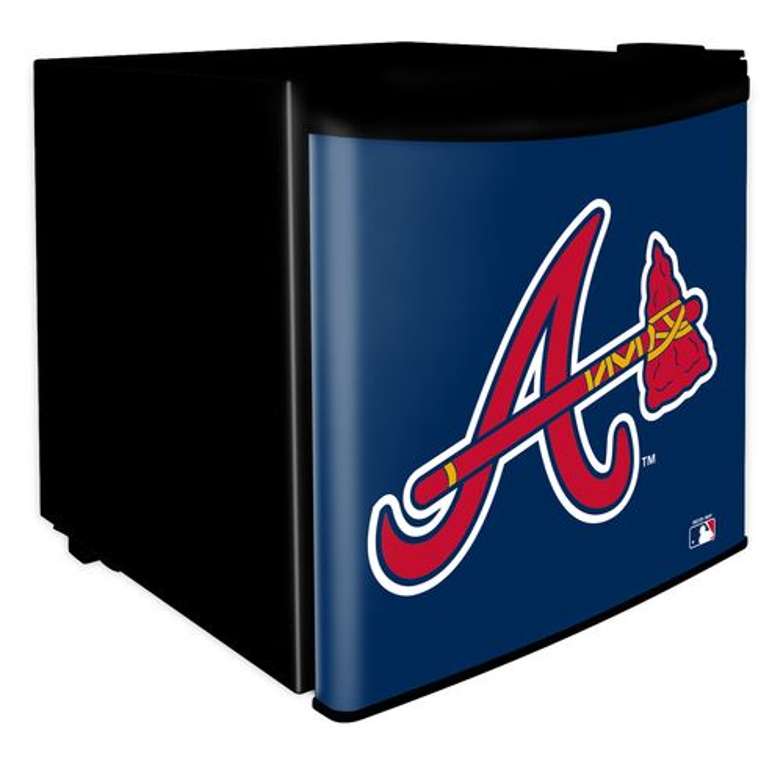 Boelter Brands Atlanta Braves 1.7 cu. ft. Dorm