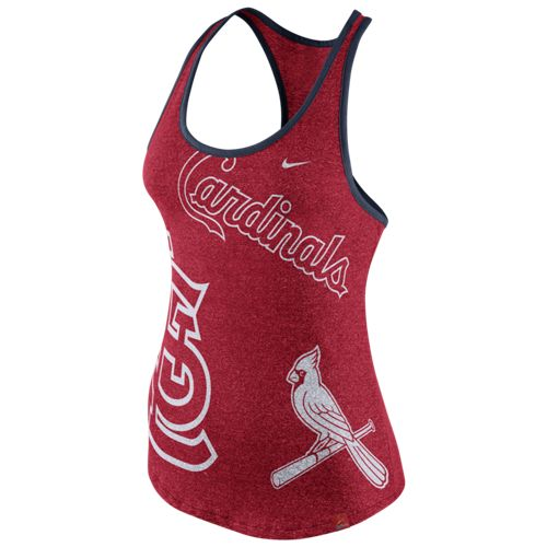 Nike™ Women's St. Louis Cardinals Marled Tank Top