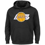 Majestic Men's Los Angeles Lakers Hardwood Classics Tek Patch™ Hoodie
