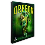 Photo File University of Oregon Player Stretched Canvas Photo - view number 1