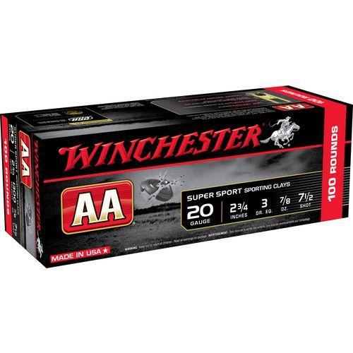 Winchester AA Super Sport Sporting Clays 20 Gauge Shotshells
