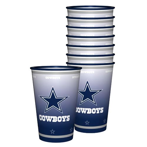 Boelter Brands Dallas Cowboys 20 oz. Souvenir Cups 8-Pack