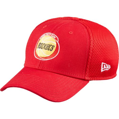 New Era Men's Houston Rockets HWC Logo 39THIRTY Neo Cap