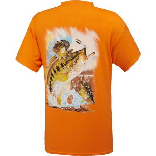 Guy Harvey Men's Bassmaster Print Graphic T-shirt