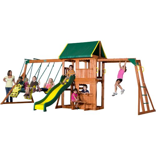 Display product reviews for Backyard Discovery™ Prairie Ridge Wooden Swing Set