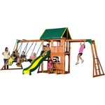 Backyard Discovery™ Prairie Ridge Wooden Swing Set