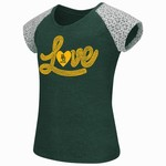 Colosseum Athletics Girls' Baylor University All About That Lace T-shirt