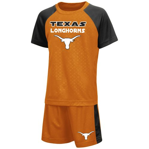 Colosseum Athletics Toddler Boys' University of Texas Gridlock Set