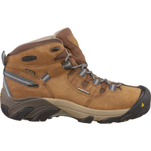 KEEN Men's Detroit Mid Steel Toe Work Boots