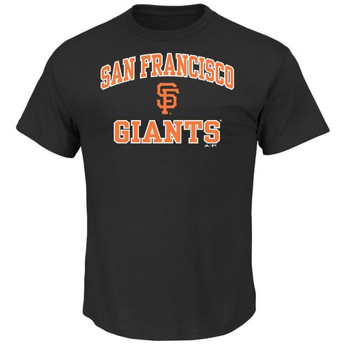 Majestic Men's San Francisco Giants Heart and Soul T-shirt