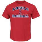 Majestic Men's Los Angeles Angels of Anaheim Heart and Soul T-shirt - view number 1