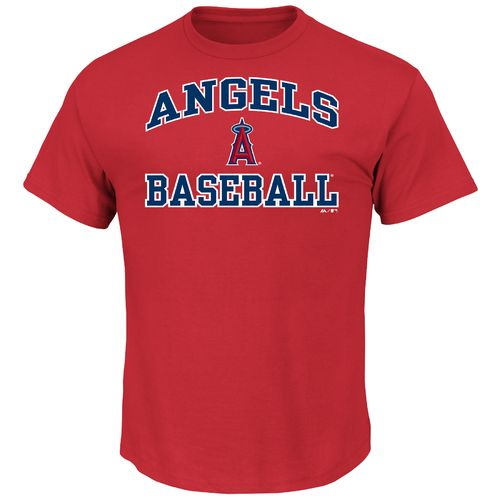 Majestic Men's Los Angeles Angels of Anaheim Heart and Soul T-shirt
