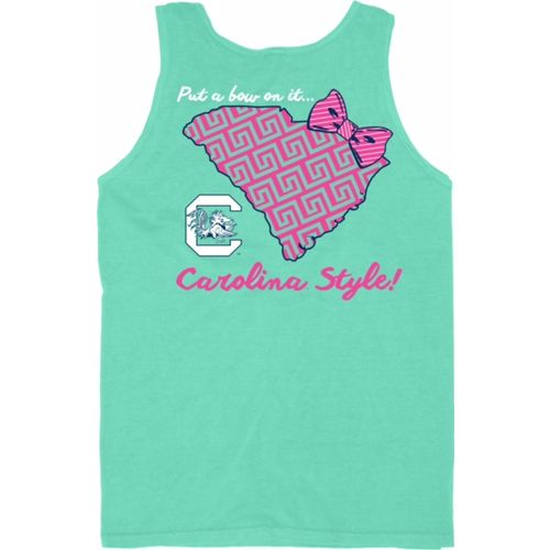 Blue 84 Women's University of South Carolina Tied Together Tank Top