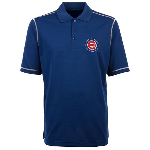 Antigua Men's Chicago Cubs Icon Piqué Polo Shirt