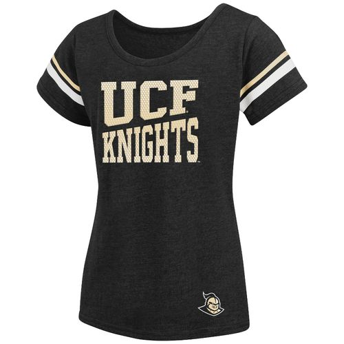 Colosseum Athletics™ Girls' University of Central Florida Fading Dot T-shirt - view number 1