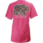 Three Squared Juniors' Baylor University Preppy Paisley T-shirt