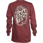 Three Squared Juniors' Texas Tech University Maya Long Sleeve T-shirt