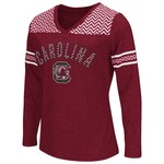 Colosseum Athletics™ Girls' University of South Carolina Cupie Long Sleeve T-shirt