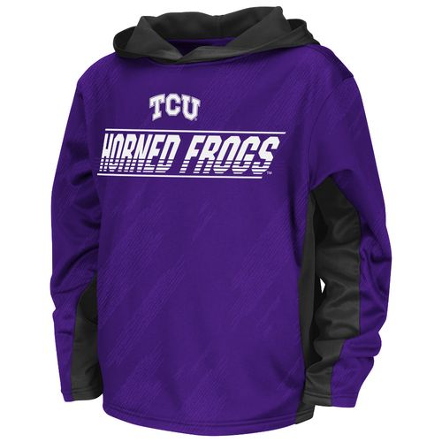 Colosseum Athletics™ Juniors' Texas Christian University Sleet Pullover Hoodie