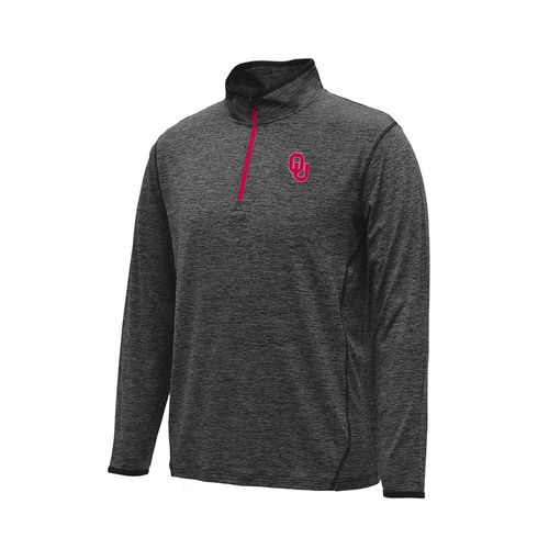 Colosseum Athletics™ Men's University of Oklahoma Action Pass 1/4 Zip Pullover