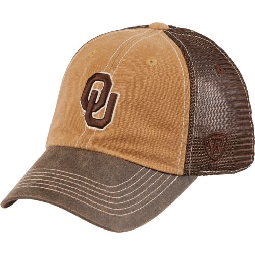 Top of the World Men's University of Oklahoma Incog 2-Tone Adjustable Cap