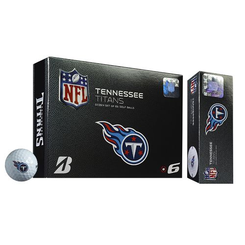 Bridgestone Golf Indiana Tennessee Titans e6 Golf Balls 12-Pack