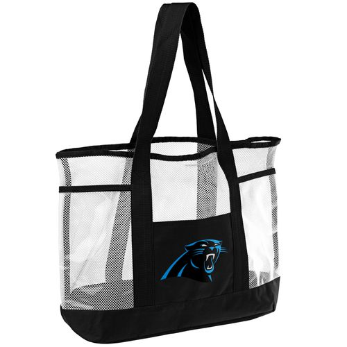 Team Beans Carolina Panthers Beach Tote Bag
