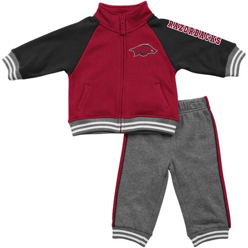 Colosseum Athletics™ Infants'/Toddlers' University of Arkansas Aviator Fleece Jacket