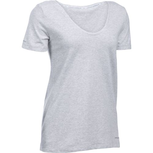 Under Armour™ Women's Charged Cotton® Scoop V-neck