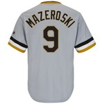 Majestic Men's Pittsburgh Pirates Bill Mazeroski #9 Cool Base Cooperstown Jersey
