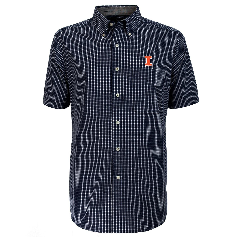 Antigua Men's University of Illinois League Short Sleeve Shirt