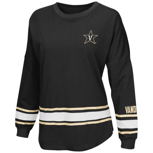 Colosseum Athletics™ Women's Vanderbilt University All Around Oversize Long Sleeve T-shirt