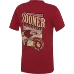 Image One Men's University of Oklahoma Deer Slab Comfort Color T-shirt