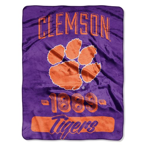 The Northwest Company Clemson University Micro Raschel Throw