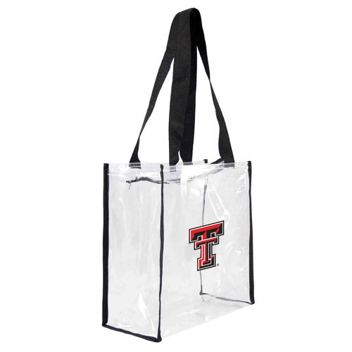 Little Earth Productions Texas Tech University Clear Square Tote Bag - view number 1