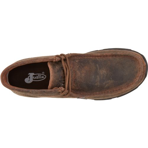 Justin Men's Waxy Driver Moc Casual Shoes - view number 4