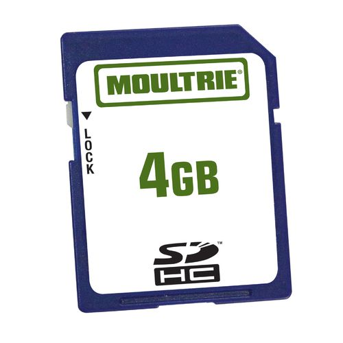 Moultrie 4 GB SD Game Camera Memory Card