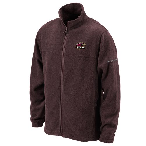 Columbia Sportswear™ Men's University of Louisiana at Monroe Flanker™ Full Zip Fleece