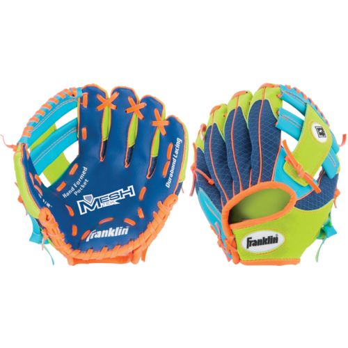 "Franklin Youth Meshtek 9.5"" T-ball Glove"
