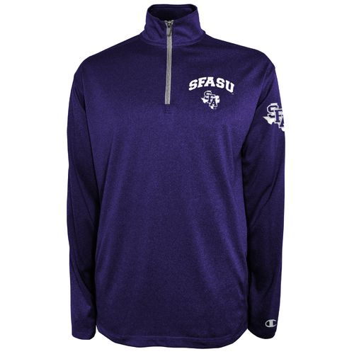 Champion™ Men's Stephen F. Austin State University Victory 1/4 Zip Pullover - view number 1
