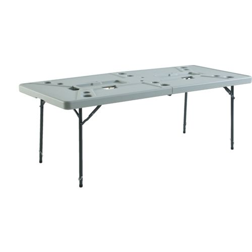 Display product reviews for Academy Sports + Outdoors 7 ft Folding Cookout Table