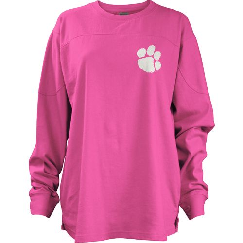 Three Squared Juniors' Clemson University Aloha Big Shirt