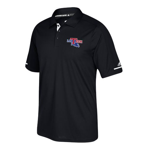 adidas Men's Louisiana Tech University climachill Polo Shirt